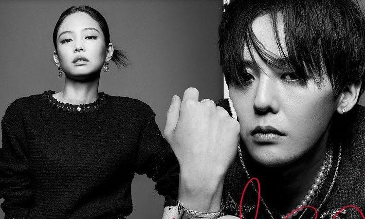 Jennie de BLACKPINK y G-Dragon de BIGBANG revelan sus nuevas fotos de embajadores de Chanel