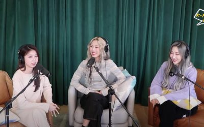 Dami, Yoohyeon y Handong de Dreamcatcher