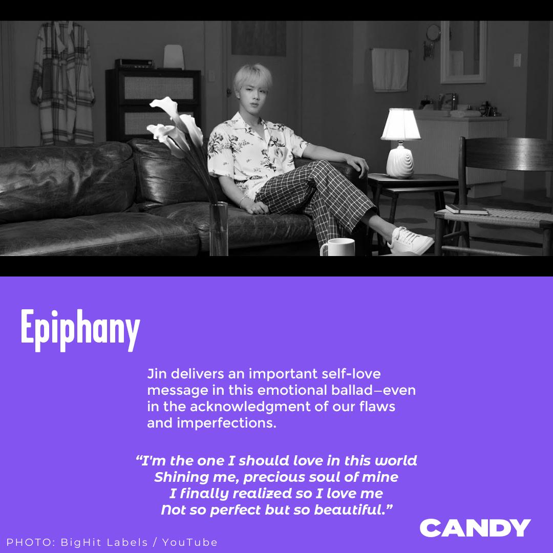'Epiphany' de Jin de BTS merece igual reconocimiento que 'Dynamite,' según Candy Magazine