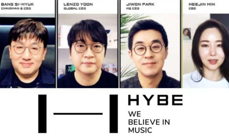 Funcionarios principales de HYBE
