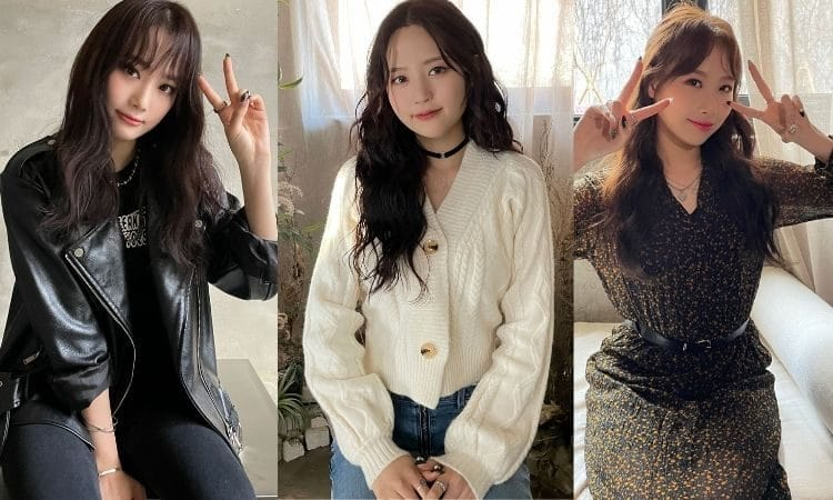 Nahyun, Dana y Yewon de Hot Issue