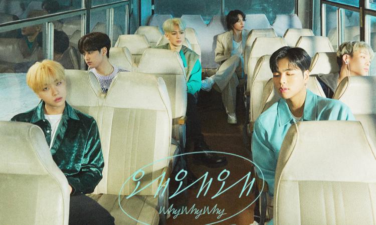 iKON lanza el último póster para su nuevo sencillo 'Why Why Why'