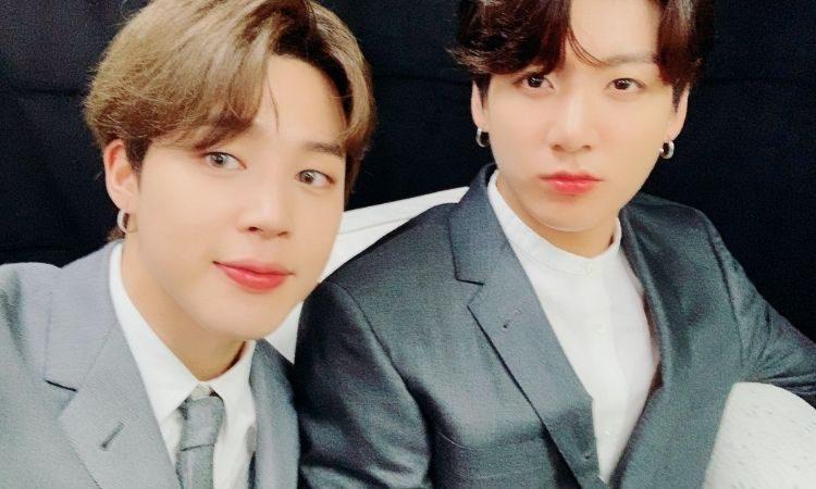 Jimin y Jungkook de BTS