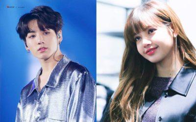 Jungkook de BTS y Lisa de Blackpink