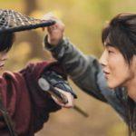 Kim So Hyun y Ji Soo en River Where The Moon Rises
