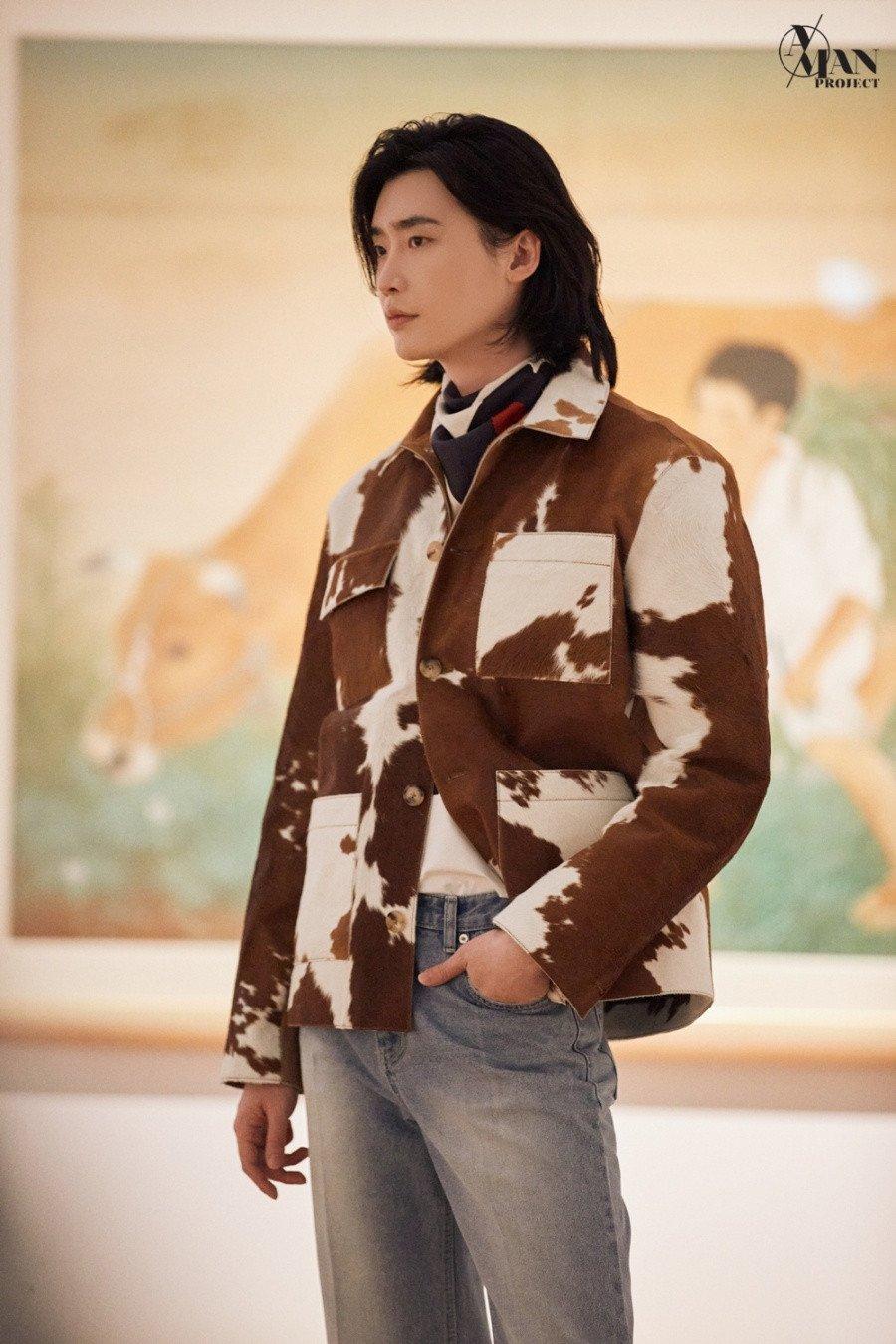 Lee Jong Suk se roba la atención en la pasarela del Seoul Fashion Week 2021