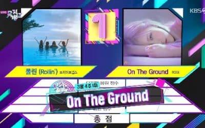 On The Ground gana en Music Bank