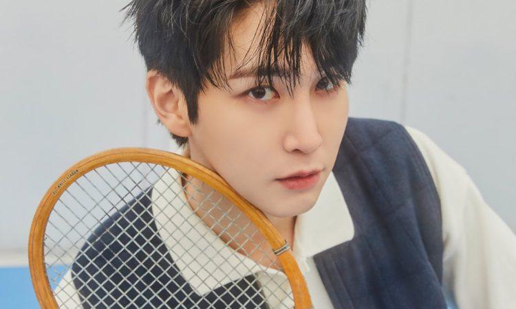 PENTAGON muestra sus fotos en real mientras juegan al tenis en LOVE or TAKE