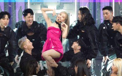 Rosé presenta On The Ground en Inkigayo
