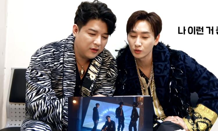 Shindong y Eunhyuk de Super Junior reaccionan al MV de 'Don't Call Me' de SHINee