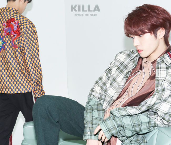 Dong Pyo y Si Young de MIRAE lanzan nuevas fotos conceptuales para 'KILLA'