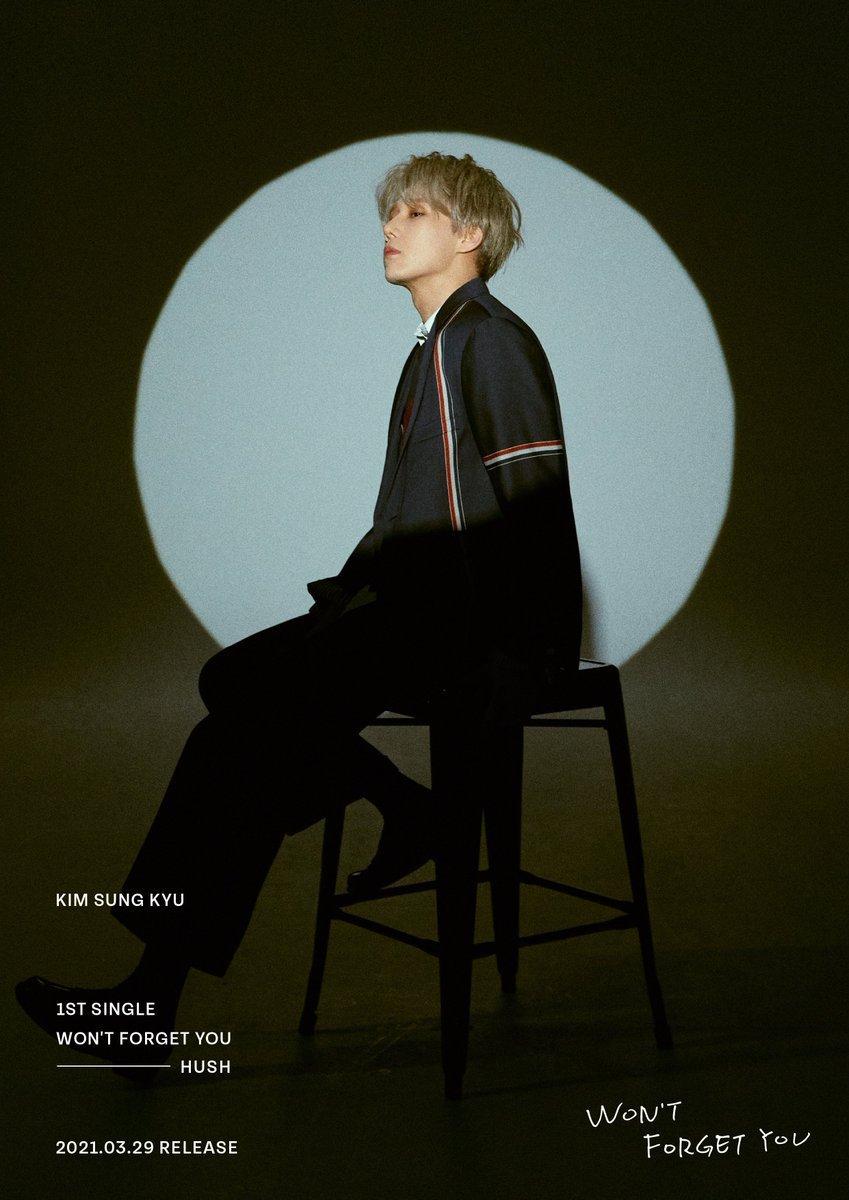Sunggyu de INFINITE lanza nuevas fotos conceptuales para 'Won't Forget You'