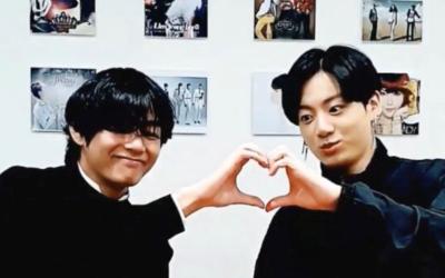 V y Jungkook de BTS