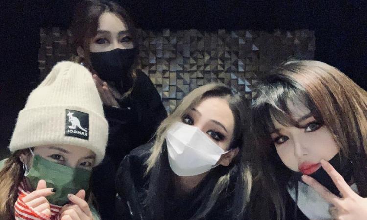 Park Bom revela que 2NE1 se ha reunido para grabar una nueva canción