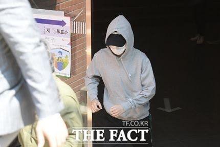 Capturan a RM, Jimin, Suga y Jin realizando el sufragio para alcalde de Seúl