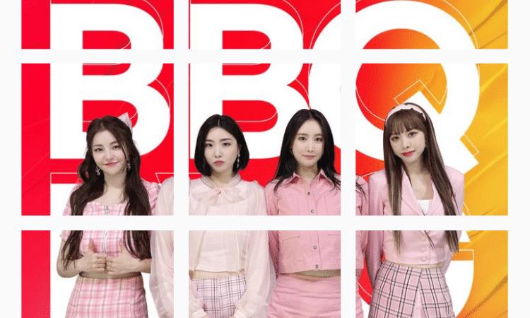 Brave Girls se convierten en modelos para BBQ Chicken