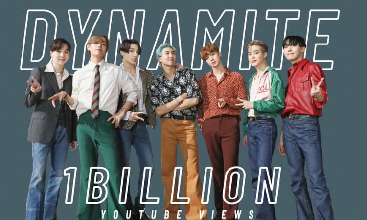 Dynamite de BTS supera 1 Billón de reproducciones en YouTube