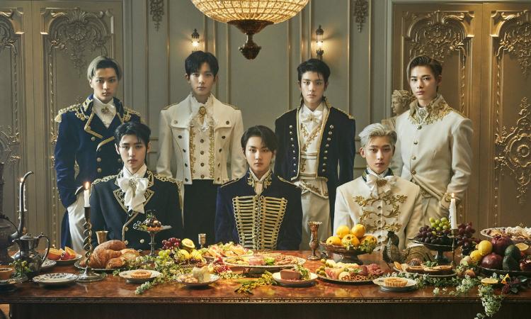 ENHYPEN son miembros de la realeza en fotos conceptuales para 'BORDER: CARNIVAL'