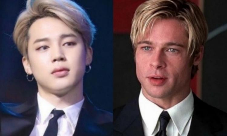 Jimin de BTS es llamado el nuevo Brad Pitt
