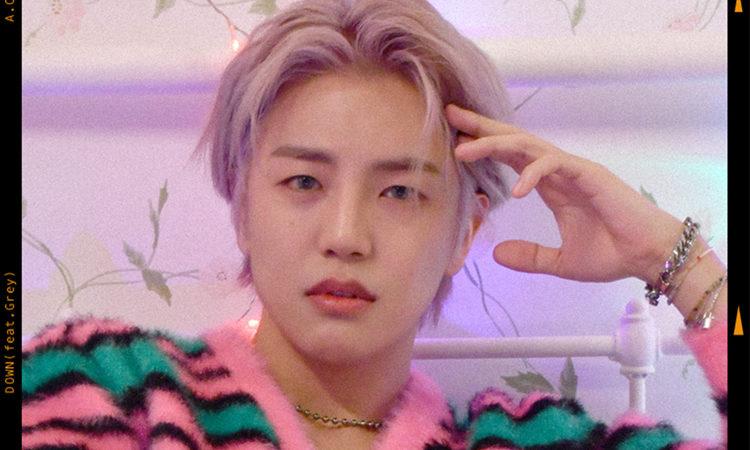 Donghun de A.C.E se divierte en su teaser con Down feat. Grey