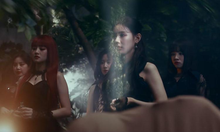 (G)I-DLE se convierten en las brujas en el MV film de PROLOGUE : THE WITCH QUEEN