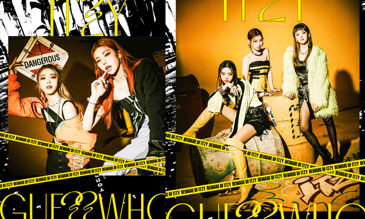 ITZY se vuelve peligrosas y rebeldes en sus fotos concepto de Guess Who
