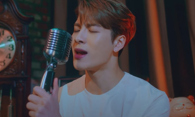 Jackson Wang se pone emotivo al cantar Leave Me Loving You en The Late Late Show with James Corden