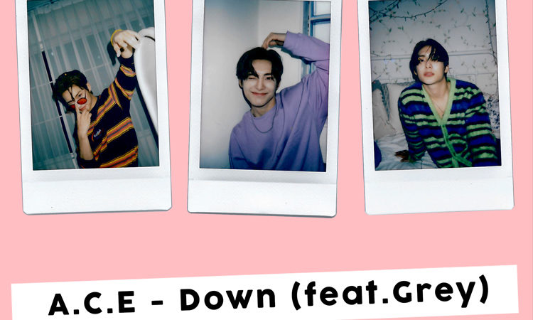 Jun de A.C.E muestra su lado divertido en el teaser de Down feat.Grey
