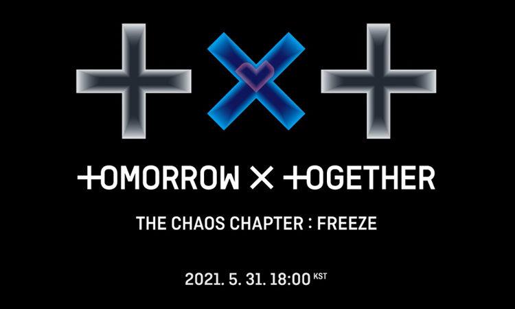 TXT realizara comeback con un nuevo capítulo titulado The Chaos Chapter: FREEZE