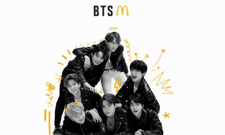 McDonald menciona un GRAN detalle sobre la colaboración con BTS