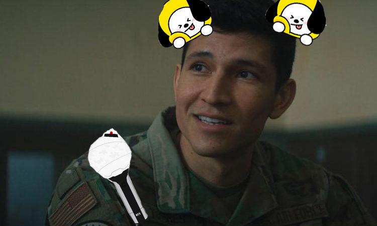 El actor de Marvel Danny Ramirez admite que es un ARMY