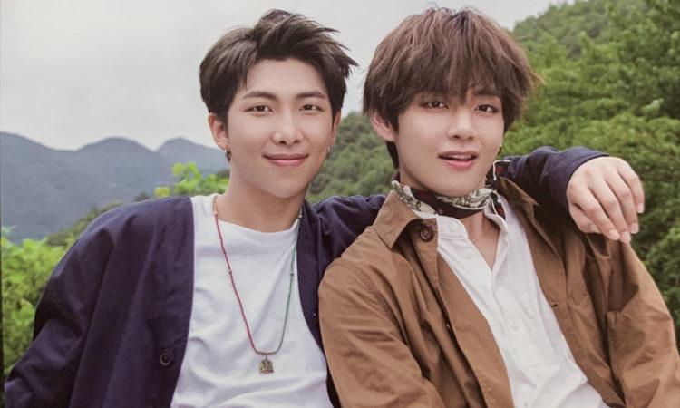 RM y V hacen historia en los charts de iTunes