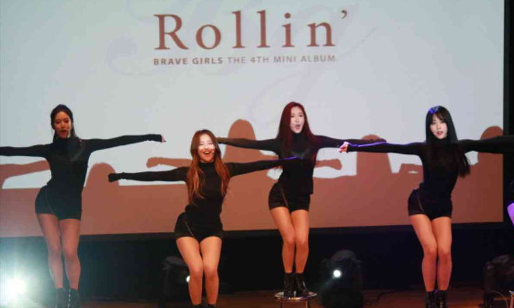 Brave Girls admiten que odiaban la coreografia de Rolllin