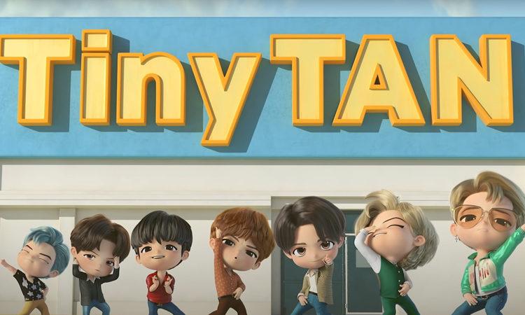 Tiny Tan baila al ritmo de Dynamite en su nuevo clip