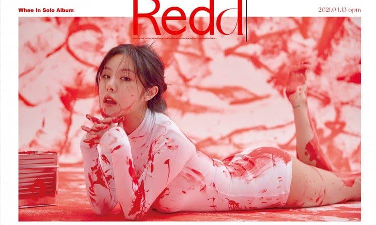 WheeindeMAMAMOO se baña en rojo para su video concepto de Redd