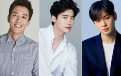 Kim Rae Won, Lee Jong Suk, Cha Eun Woo de ASTRO