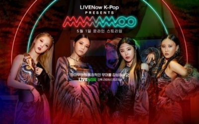 Póster de LIVENow K-Pop Presents MAMAMOO