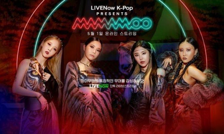 Póster de LIVENow K-Pop Presents MAMAMOO