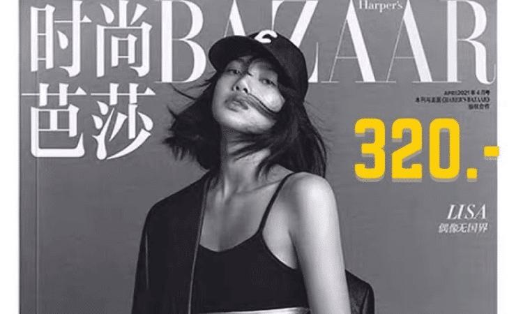 BAZAAR China elimina fotos de Lisa de BLACKPINK