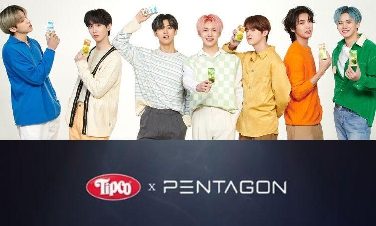 Pentagon x Tipco
