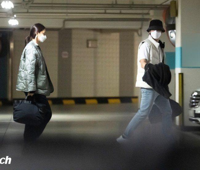 ¡Nueva pareja! Dispatch revela que Seo Ji Hye y Kim Jung Hyun están saliendo