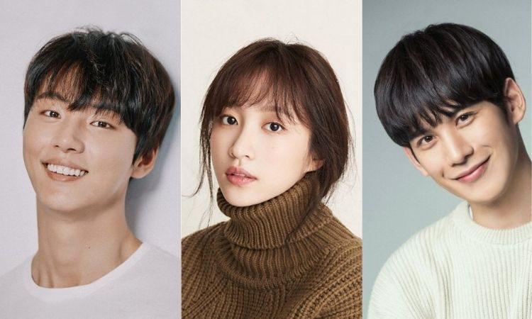 Yoon Shi Yoon, Hani de EXID y Park Ki Woong