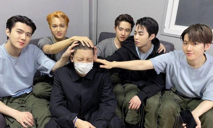 EXO despide a Chanyeol antes de su alistamiento