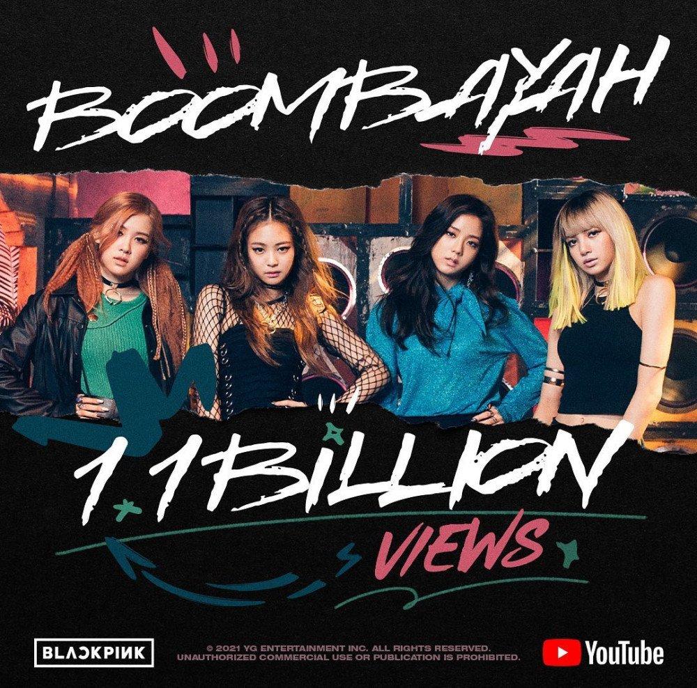 ¡BLACKPINK hace historia! Es el único grupo K-pop con 4 MVs que alcanzan 1 Billón de reproducciones