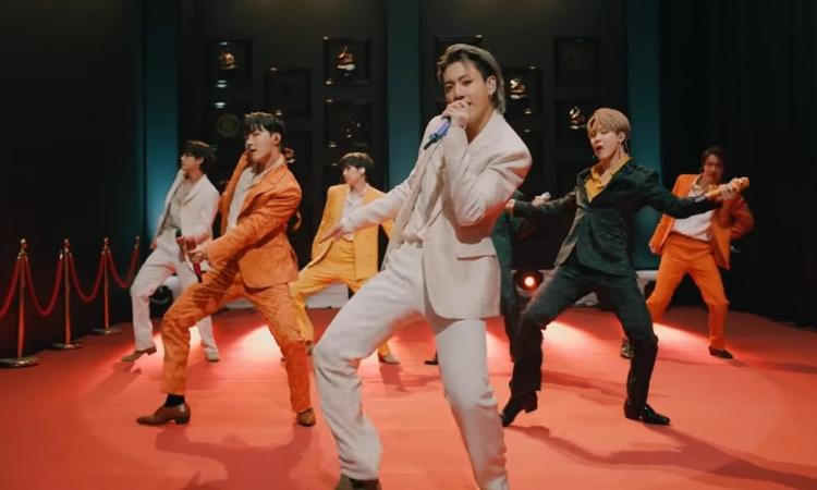 BTS comparte el vídeo oficial de su fabulosa presentación en los GRAMMY