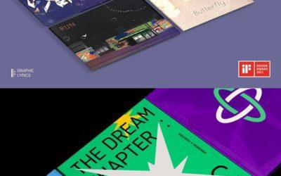 Libros de BTS y TXT ganan el premio de diseño