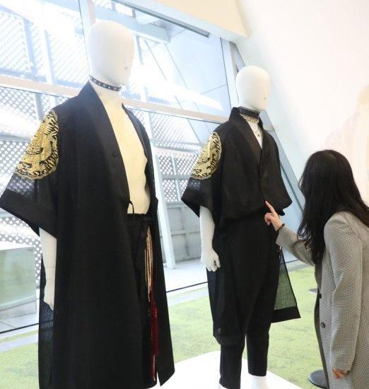 Exhibición K-pop x hanbok