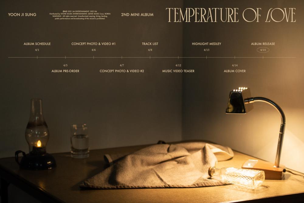 Yoon Ji Sung comparte calendario de regreso para 'Temperature of Love'