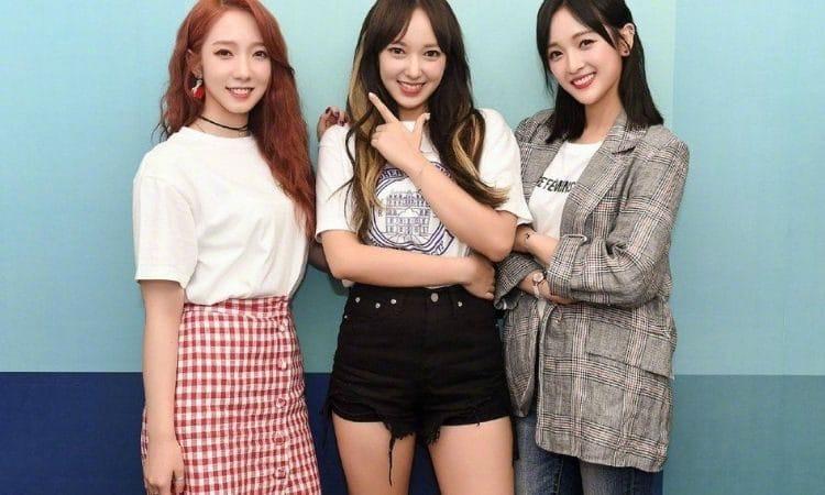 Cheng Xiao, Meiqi y Xuanyi de Cosmic Girls