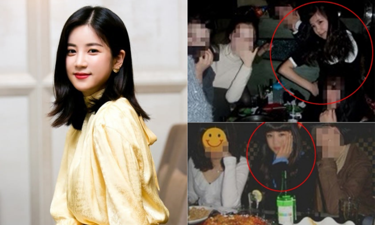 Fotos de Chorong de Apink ingiriendo alcohol siendo menor de edad generan controversia